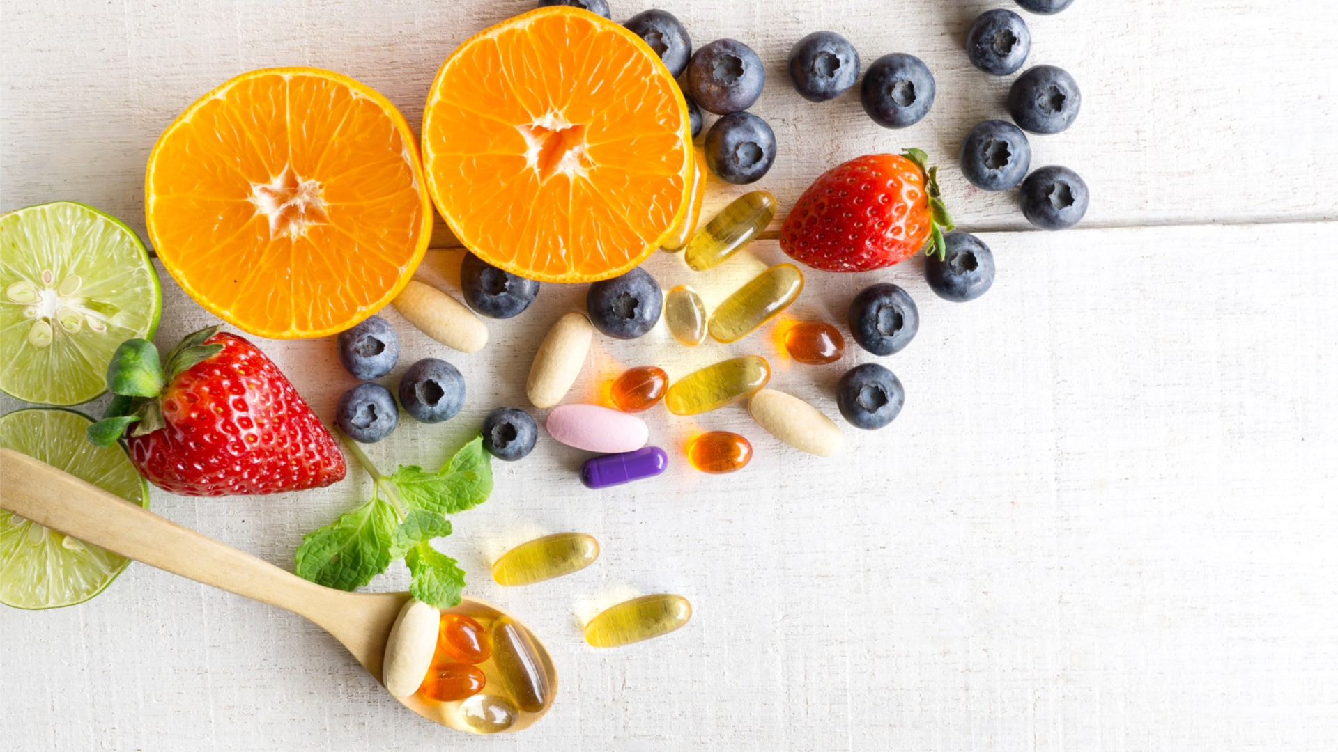 Vitamins & Supplements Anti Aging